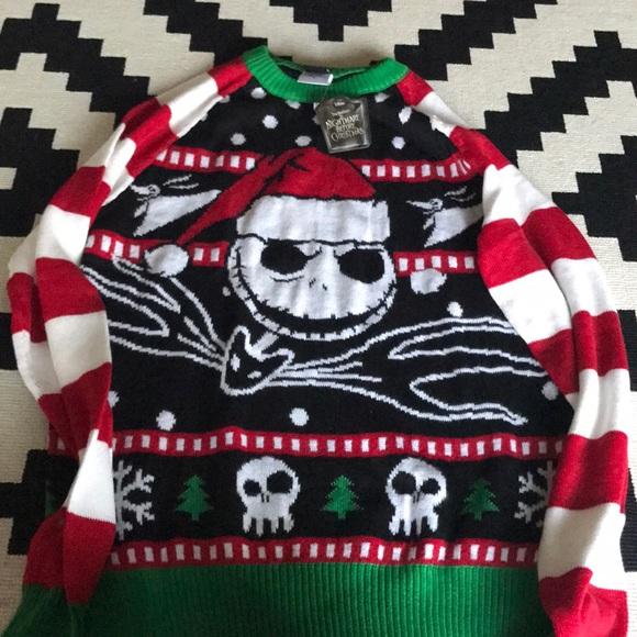Hot Topic Sweaters Nightmare Before Christmas Sweater Poshmark